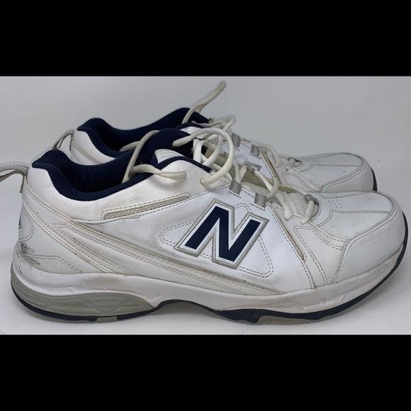 a1aae587703 Men's White New Balance 608 v 3 Shoes Size 15